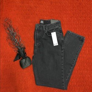 Black Urban Outfitters Mom Jeans